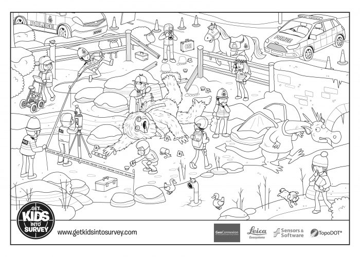 Crime Scene Colouring Sheets – Yeti