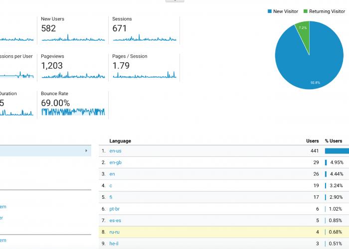 Understanding Your Website Stats